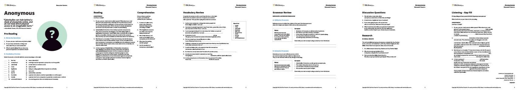 Esl library grammar practice worksheets free