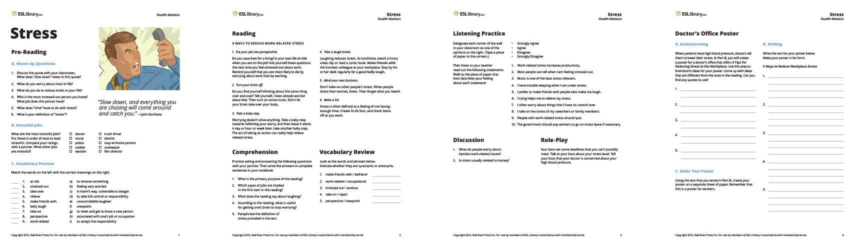 Free Worksheet Esl Library Grammar Practice Worksheets high int free english listening practice