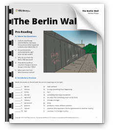 Berlin Wall Lesson Plan