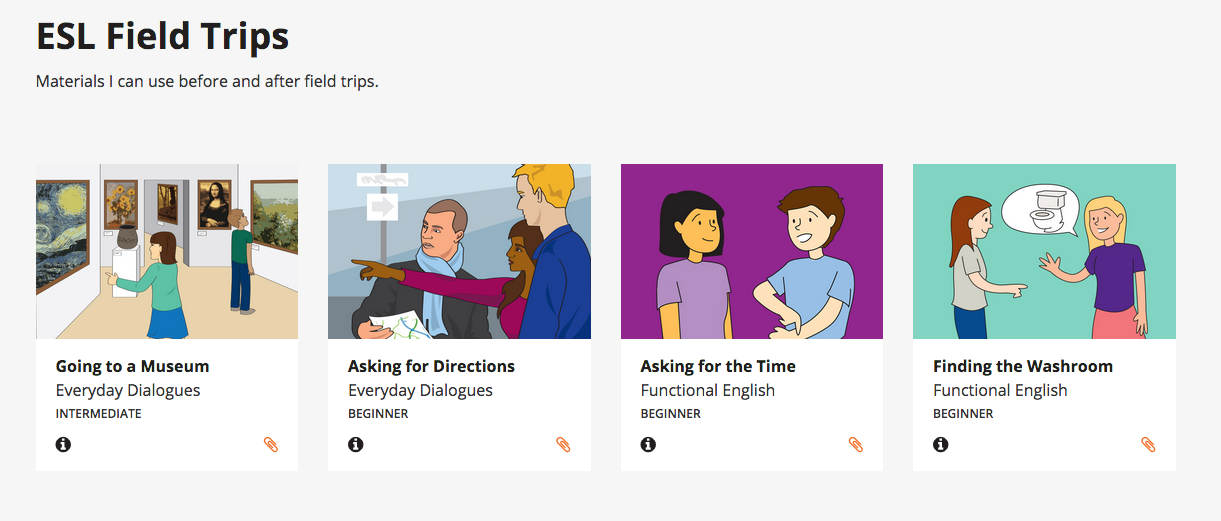 25+ Field Trips for English Language Learners – ESL Library Blog